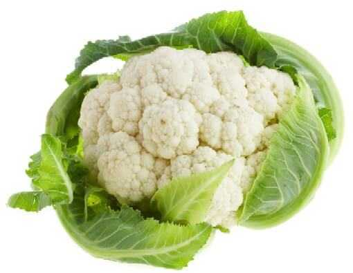 components in cauliflower